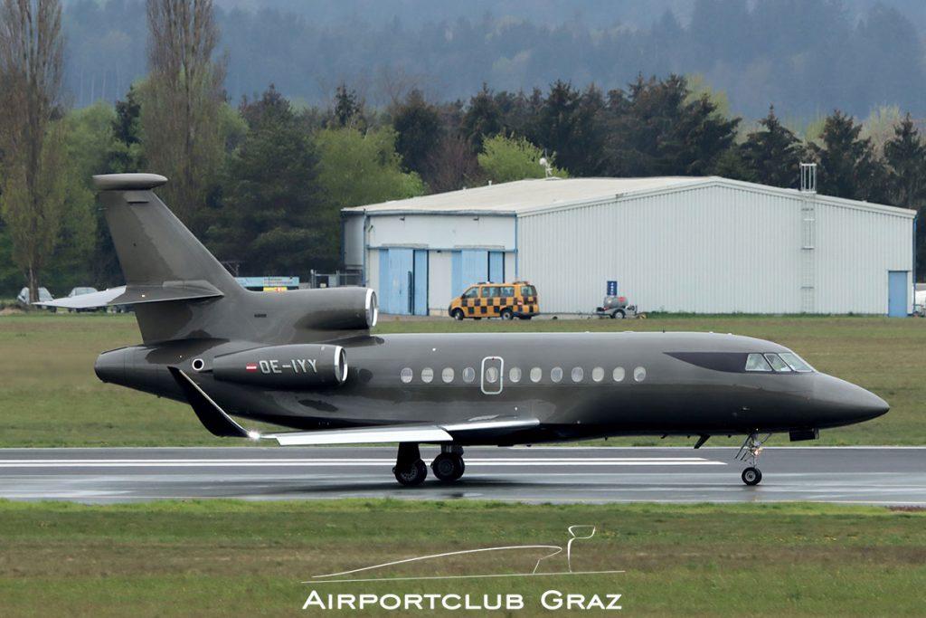Salzburg Jet Aviation Dassault Falcon 900DX OE-IYY
