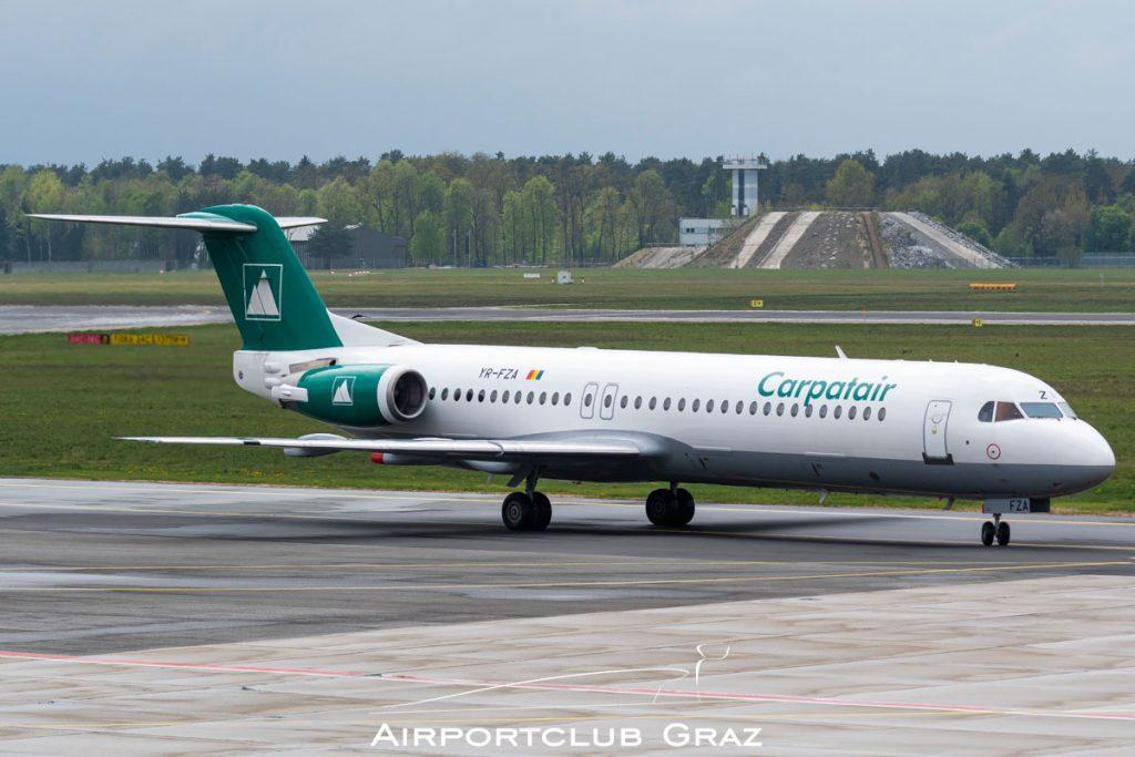 Carpatair Fokker 100 YR-FZA