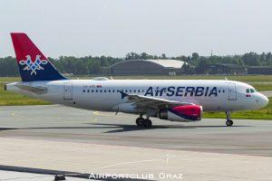 Air Serbia Airbus A319-132 YU-APE