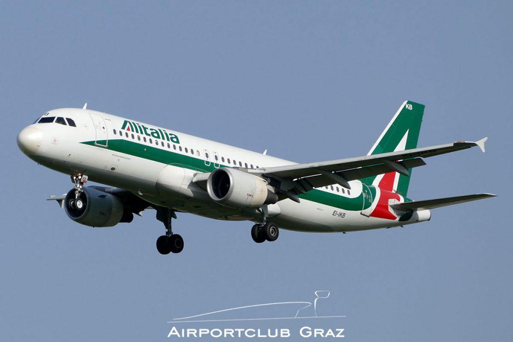 Alitalia Airbus A320-214 EI-IKB