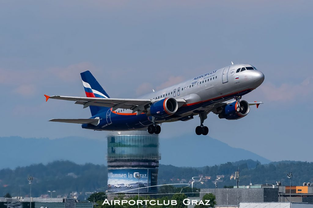 Aeroflot Airbus A320-214 VQ-BEH