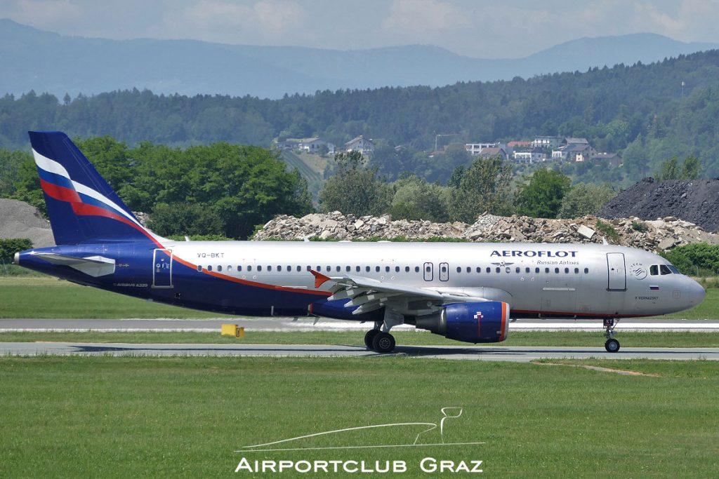 Aeroflot Airbus A320-214 VQ-BKT