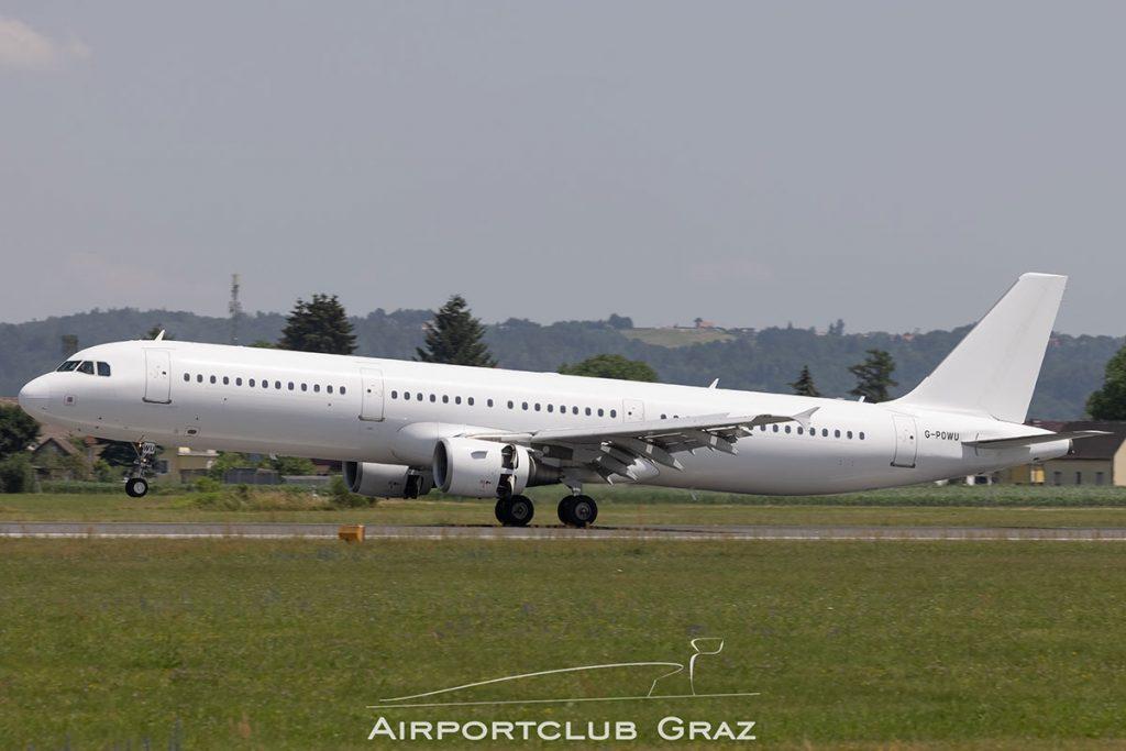 Titan Airways Airbus A321-211 G-POWU