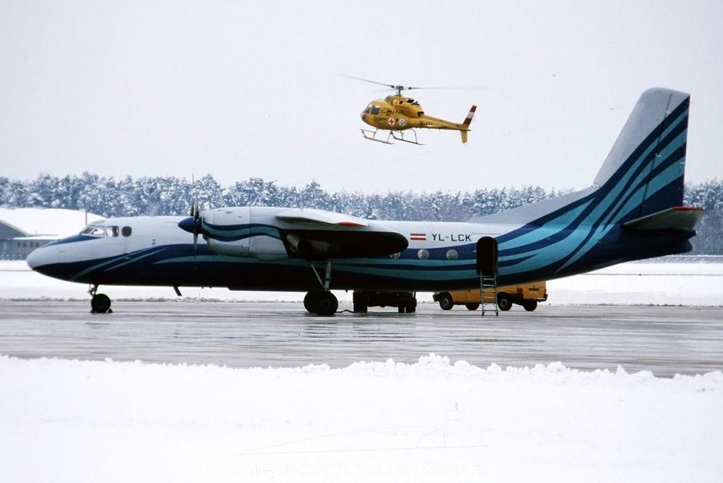 Riga Aero Club Antonov An-24B YL-LCK
