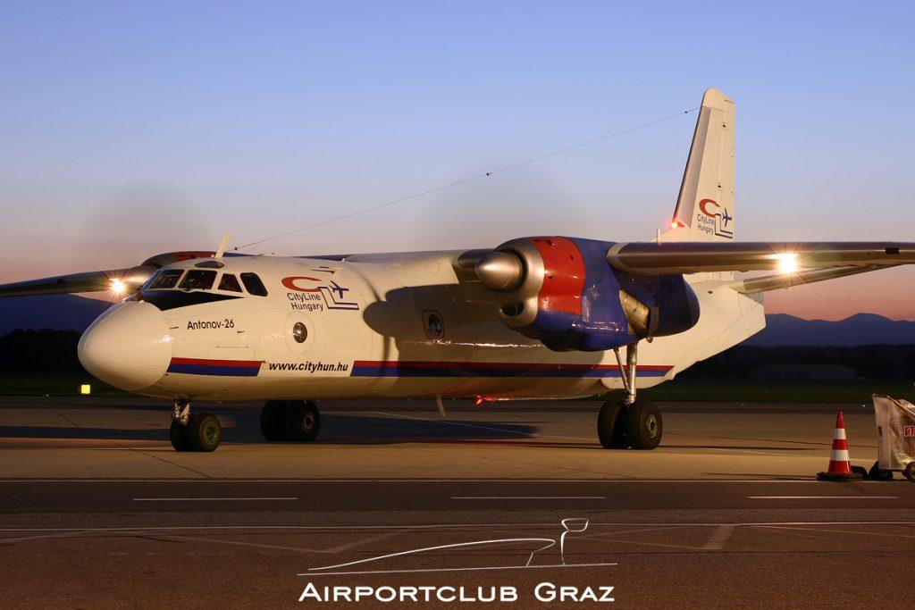 CityLine Hungary Antonov An-26 HA-TCN