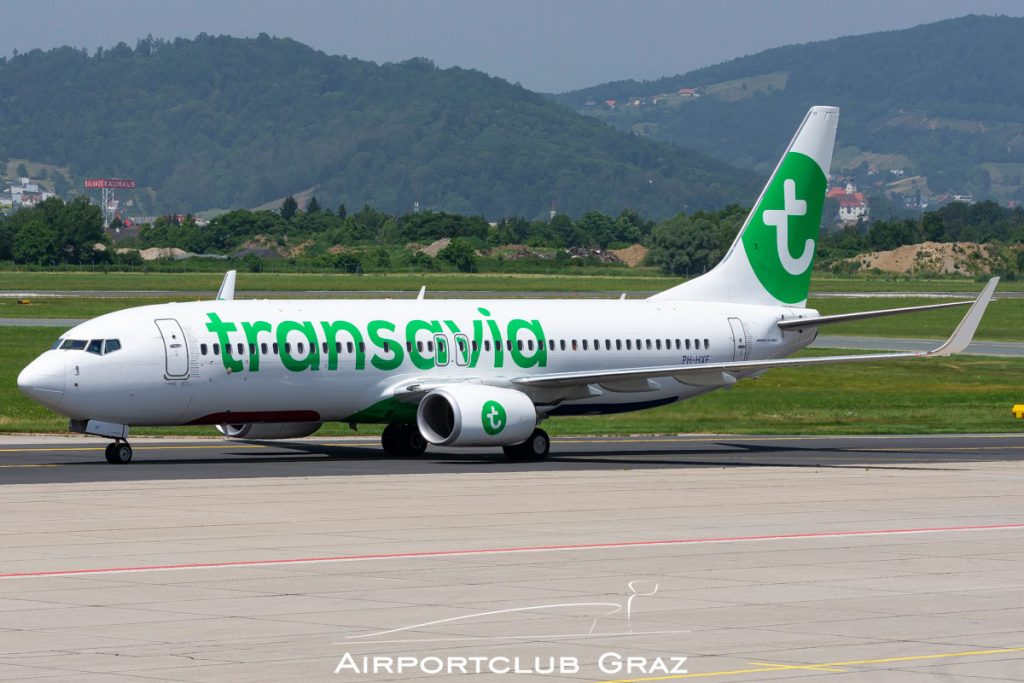 Transavia Boeing 737-8K2 PH-HXF