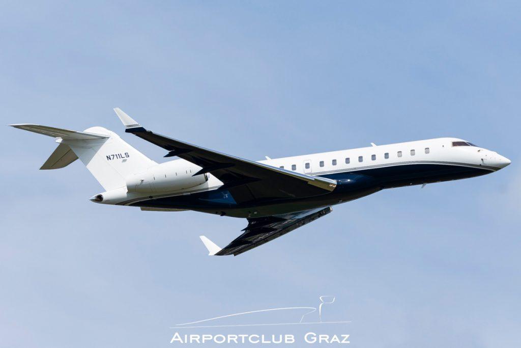 Wells Fargo Bombardier BD-700-1A10 Global 6000 N711LS