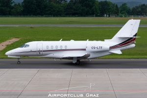 NetJets Europe Cessna Citation Latitude CS-LTF