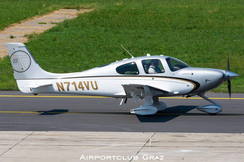 Cirrus SR22T N714VU