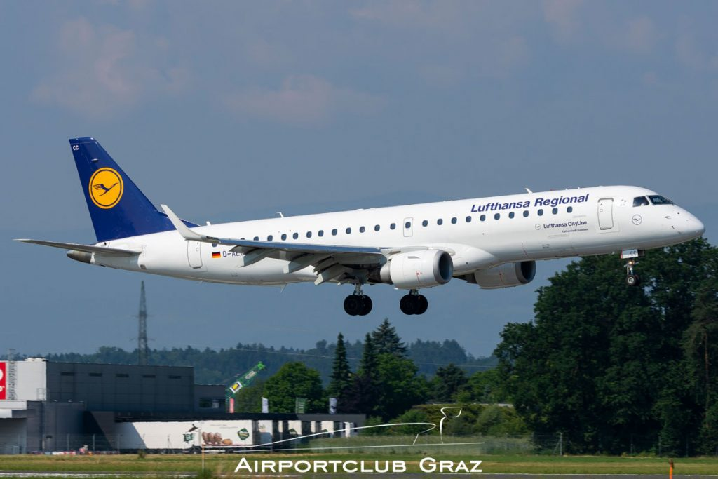 Lufthansa Cityline Embraer 190 D-AECC