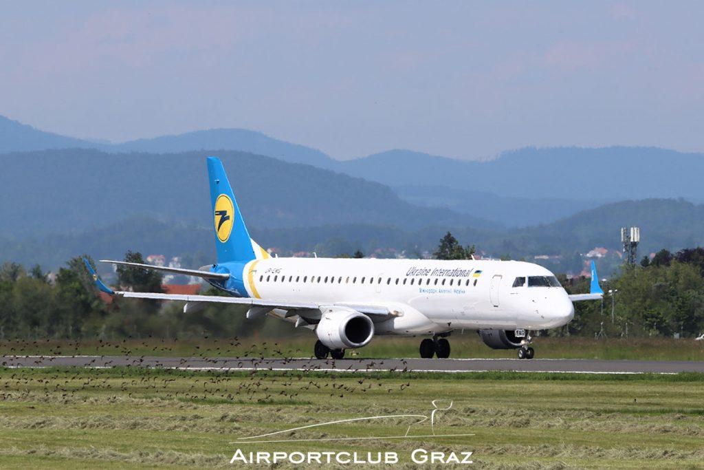 Ukraine Intl. Airlines Embraer 195 UR-EMG