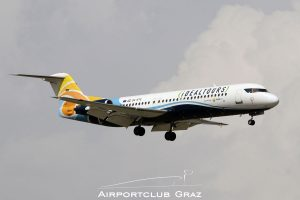 Trade Air Fokker 100 9A-BTE