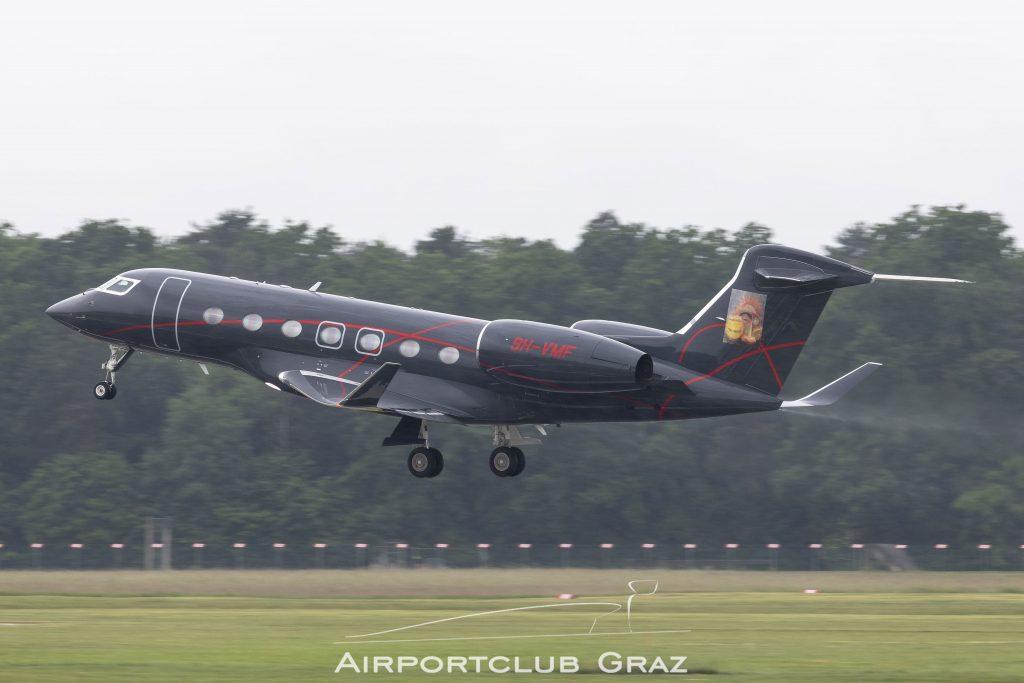 Elitavia Malta Gulfstream G500 9H-VMF
