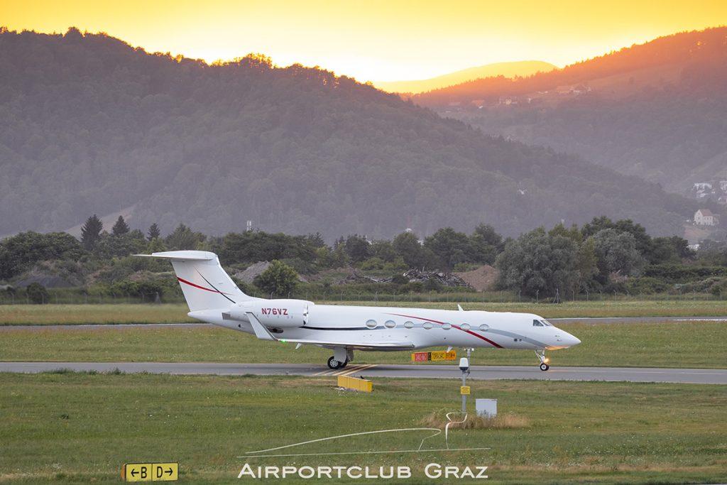 Gulfstream G550 N76VZ