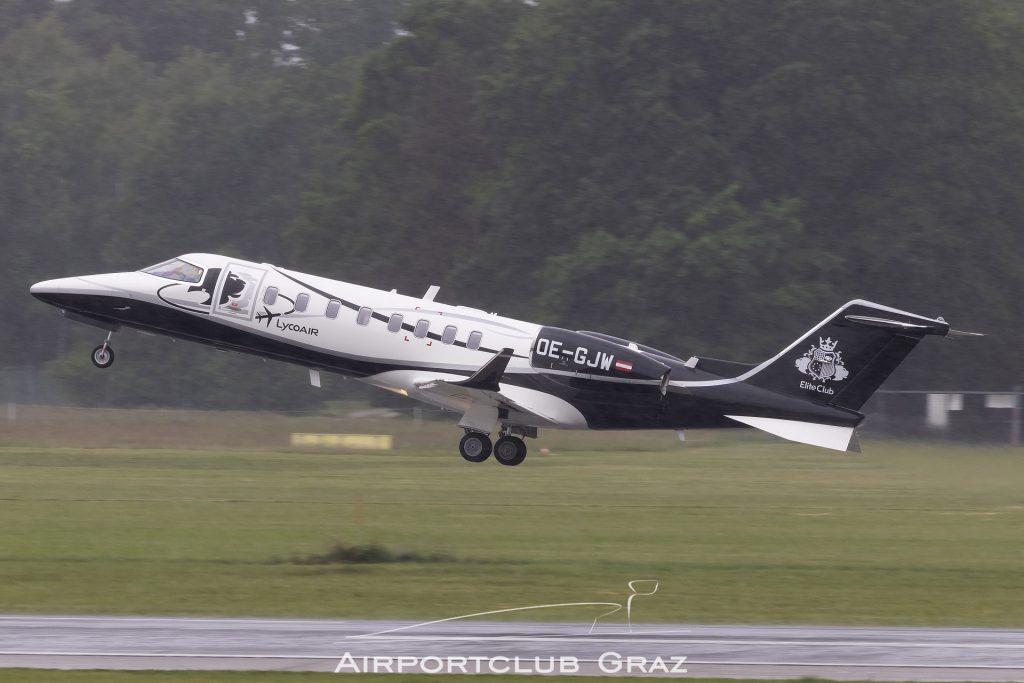 Lycoair Learjet 45 OE-GJW