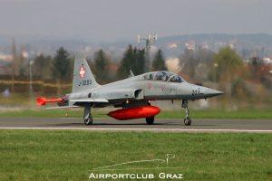 Swiss Air Force Northrop F-5F Tiger II J-3203
