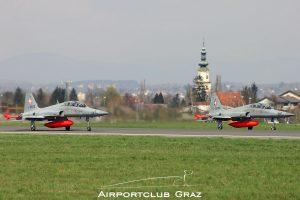 Swiss Air Force Northrop F-5F Tiger II J-3203 J-3206