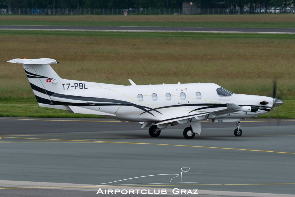 Fly 7 Executive Aviation Pilatus PC-12/47E T7-PBL