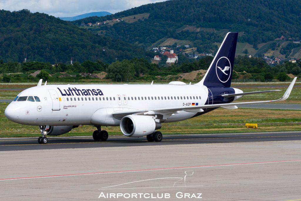 Lufthansa Airbus A320-214 D-AIZP