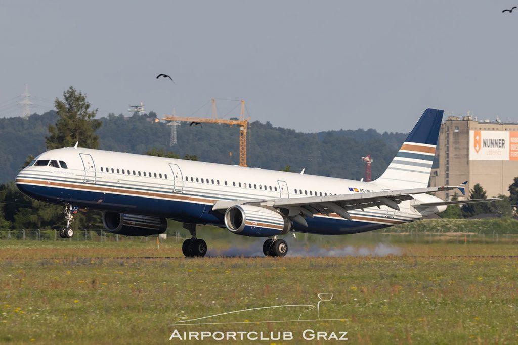 Privilege Style Airbus A321-231 EC-NLJ