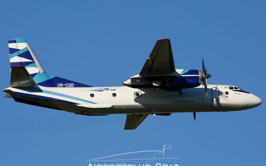 Fotostrecke Vulkan Air Antonov An-26B