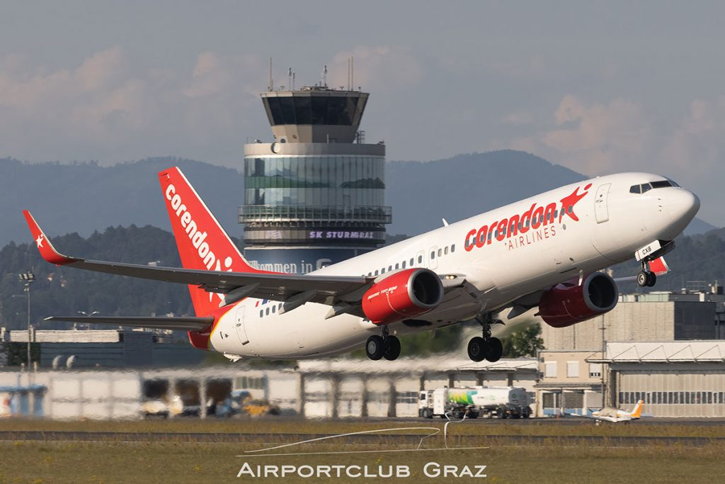 Corendon Airlines Europe Boeing 737-85R 9H-CXB