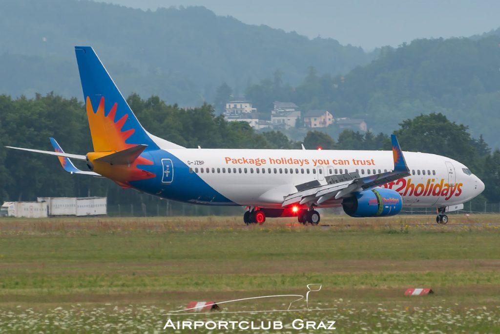 Jet2.com Boeing 737-8MG G-JZBP