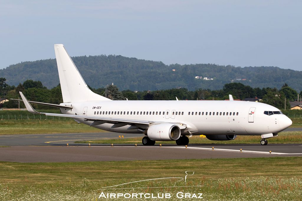 AirExplore Boeing 737-8AS OM-GEX
