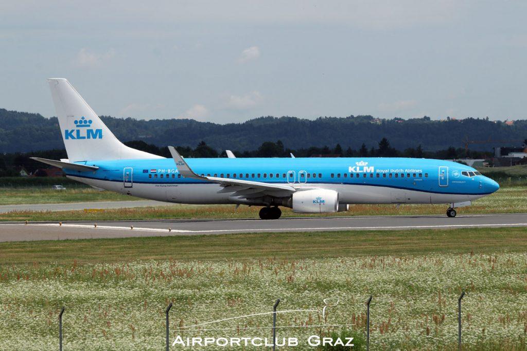 KLM Boeing 737-8K2 PH-BGA