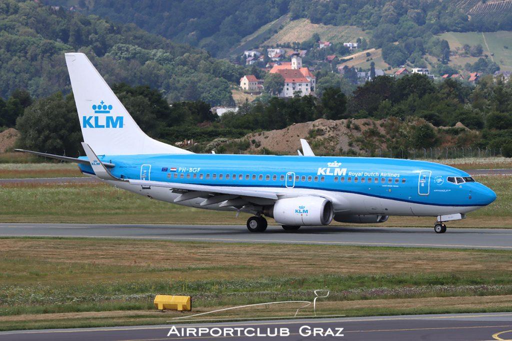 KLM Boeing 737-7K2 PH-BGF