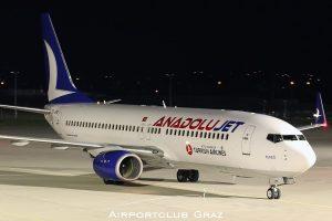 AnadoluJet Boeing 737-8F2 TC-JFU