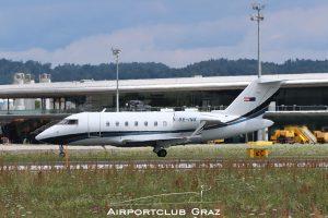 Transair Bombardier CL-600-2B16 Challenger 605 OE-INK
