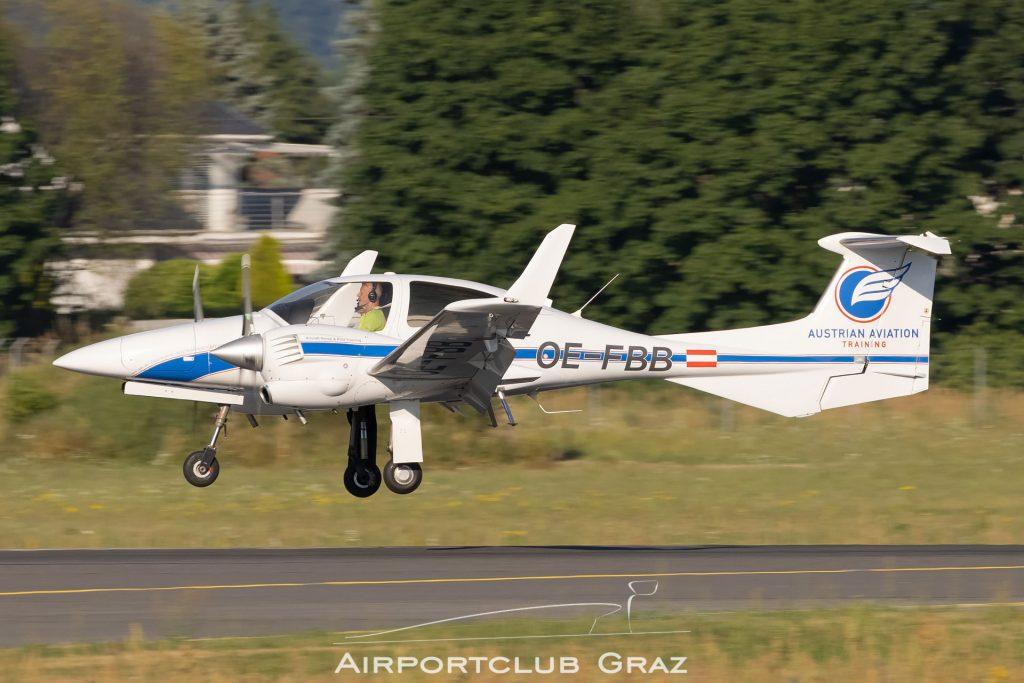 Austrian Aviation Training Diamond DA42 Twin Star OE-FBB