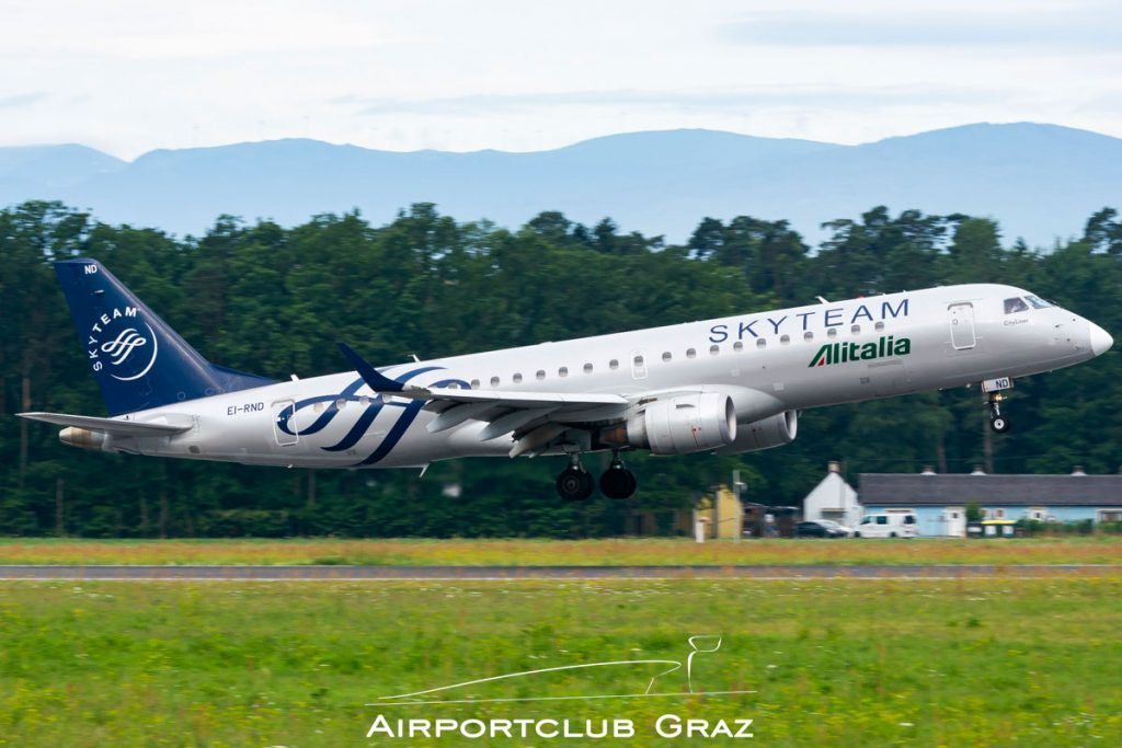 Alitalia CityLiner Embraer 190 EI-RND