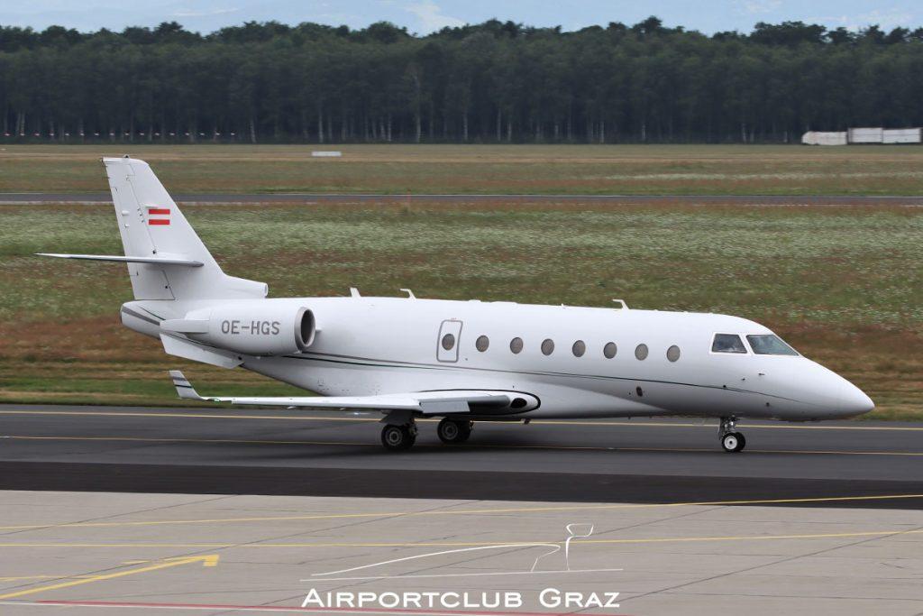 MJet Gulfstream G200 OE-HGS