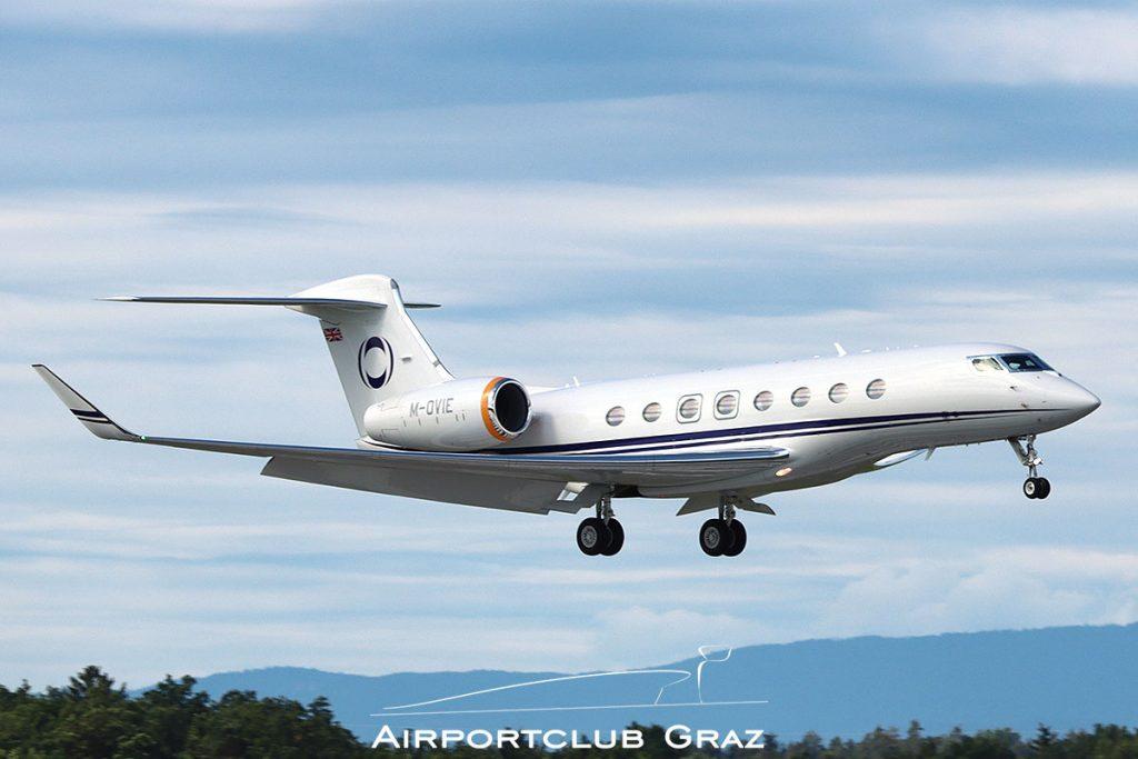 Hampshire Aviation Ltd Gulfstream G650 M-OVIE