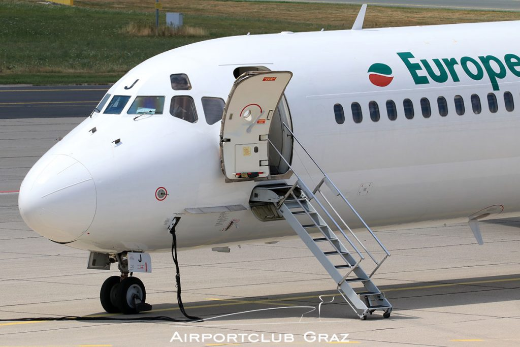 European Air Charter McDonnell Douglas MD-82 LZ-LDJ