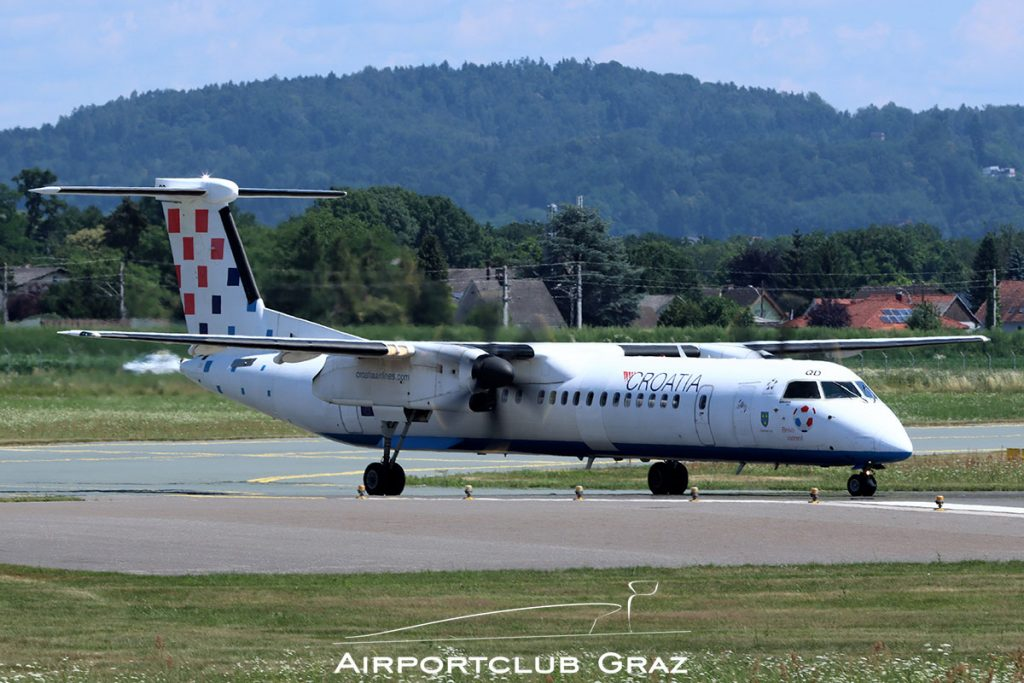 Croatia Airlines Q400 9A-CQD