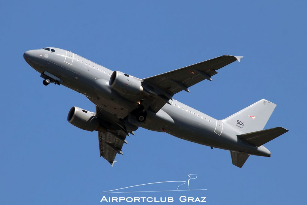 Hungary Air Force Airbus A319-112 604