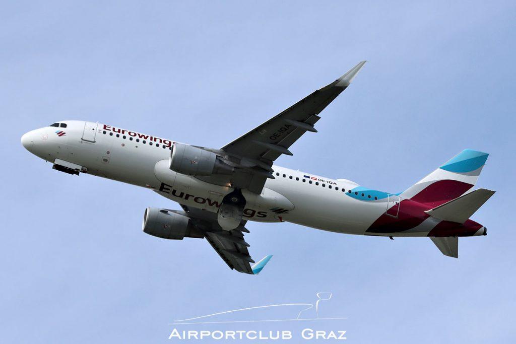 Eurowings Airbus A320-214 OE-IQA