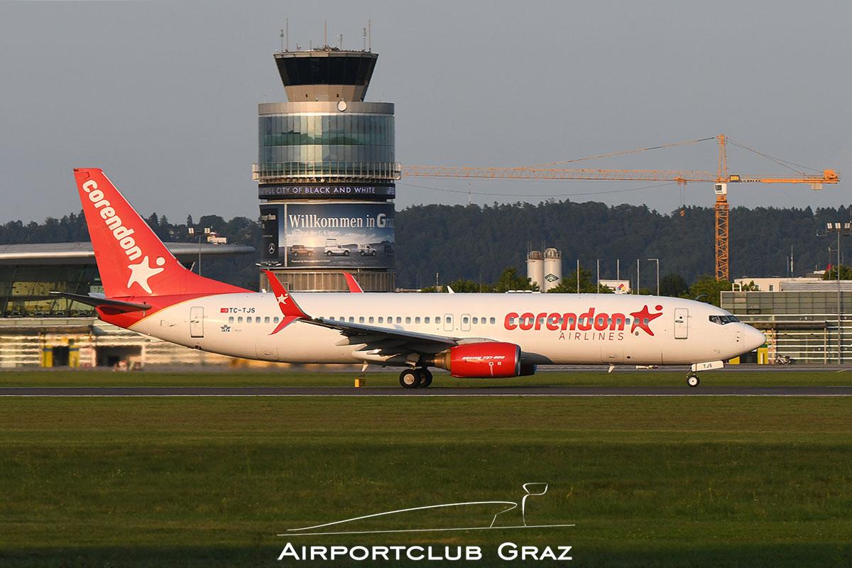 Corendon Airlines Boeing 737-86N TC-TJS