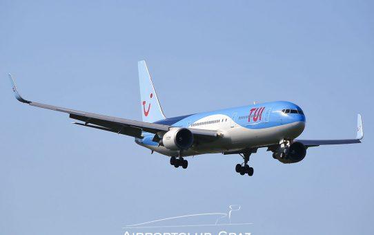 Boeing 767 Frachtflug in die USA