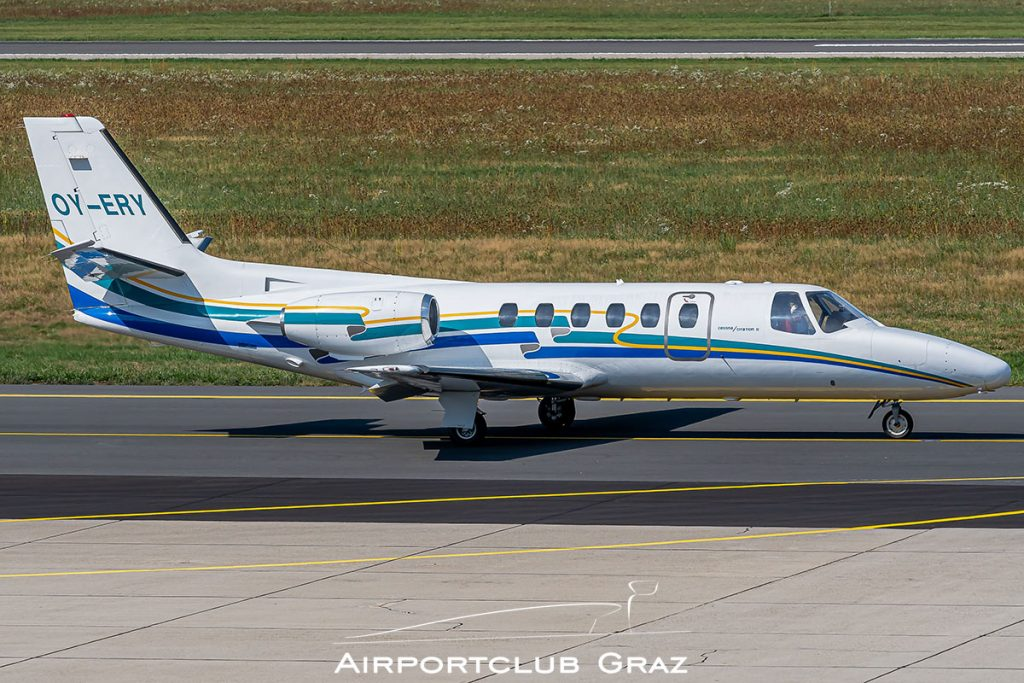 Cessna 550 Citation II OY-ERY