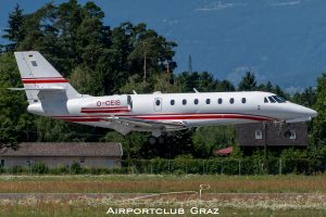E-Aviation Cessna 680 Citation Sovereign D-CEIS