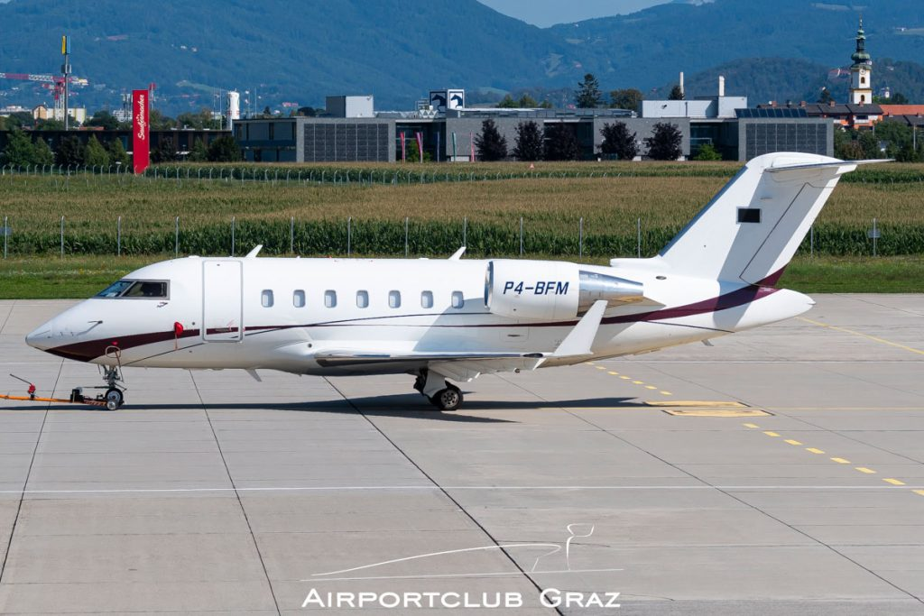 Bestfly Aircraft Bombardier CL-600-2B16 Challenger 605 P4-BFM