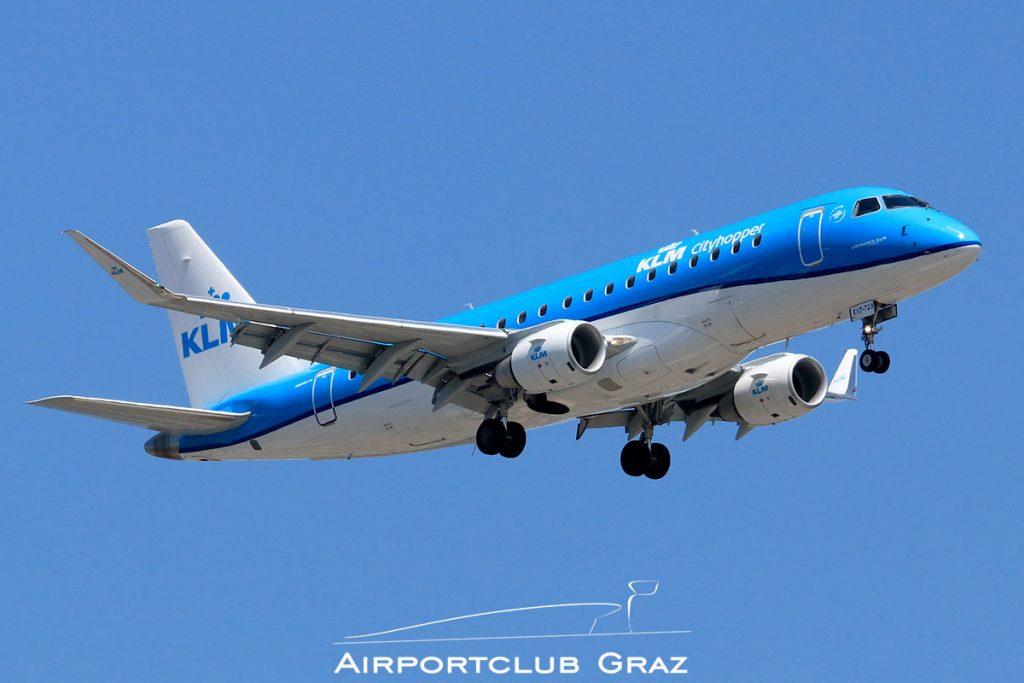 KLM Cityhopper Embraer 175 PH-EXZ
