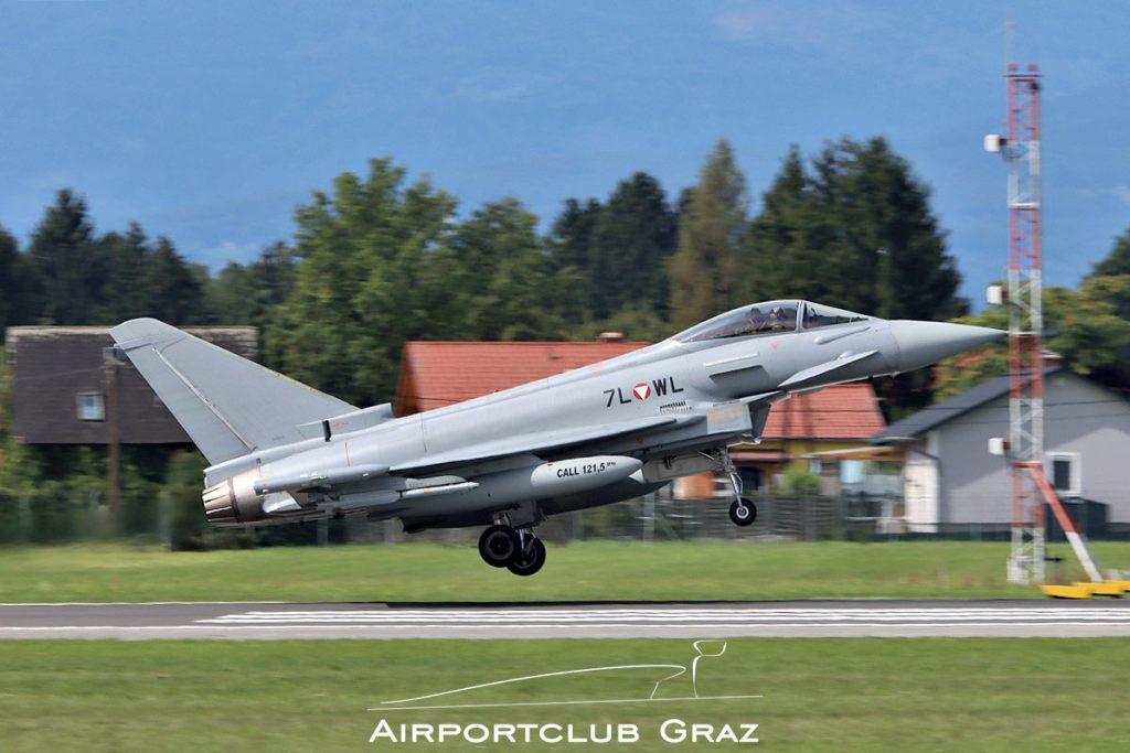 Bundesheer Eurofighter Typhoon EF2000 7L-WL