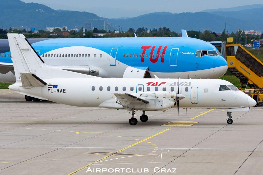 Raf-Avia Airlines Saab 340B YL-RAE