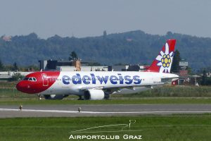 Edelweiss Airbus A320-214 HB-IHX