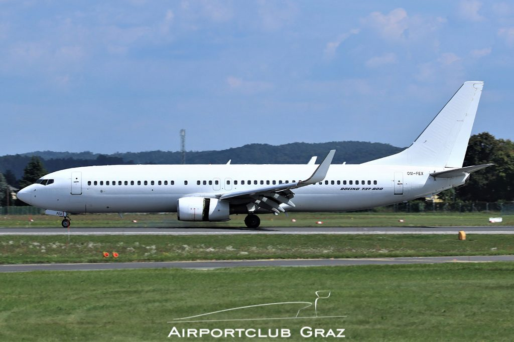 Air Explore Boeing 737-8Q8 OM-FEX